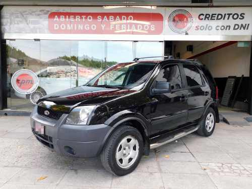 Ford Ecosport 1.6 Xls 5 Puertas 2007 Negro Rpm Moviles