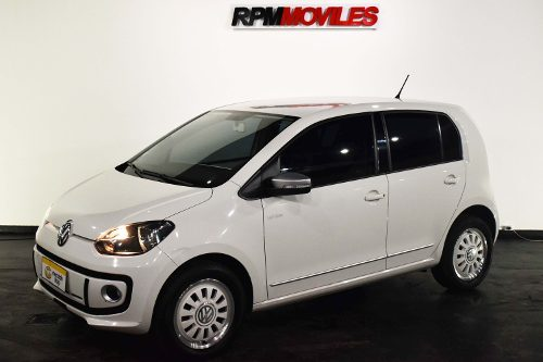 Volkswagen Up White 1.0 2015 Rpm Moviles