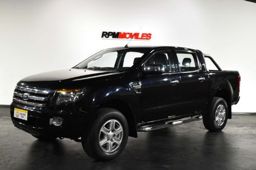 Ford Ranger 3.2 4×2 Xlt Gris Oscura 2013 Rpm Moviles