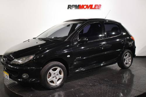 Peugeot 206 5p Xt Premiun 1.6 N At 2007 Rpm Moviles