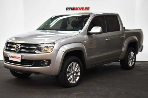 Volkswagen Amarok Highline Cuero 4×4 Dsg 2015 Rpm Moviles