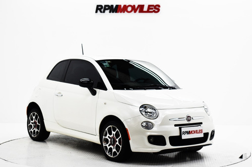 Fiat 500 1.4 16v Sport Cuero Mt 2015 Rpm Moviles